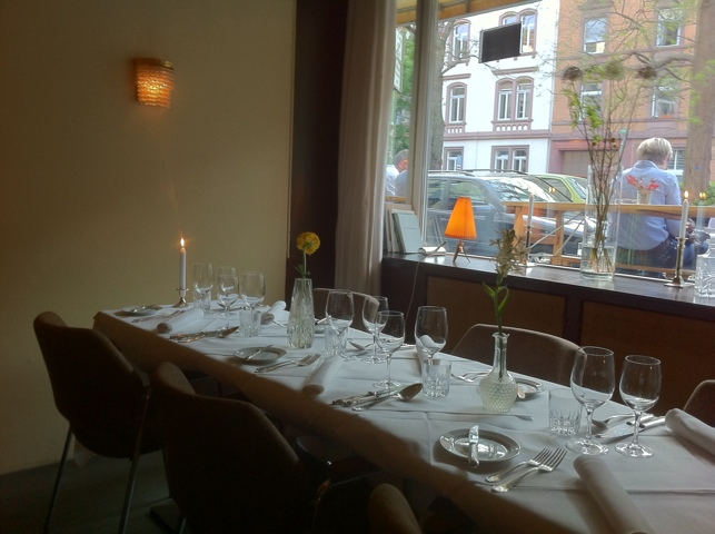 restaurant blumen frankfurt d k chenreise. Black Bedroom Furniture Sets. Home Design Ideas