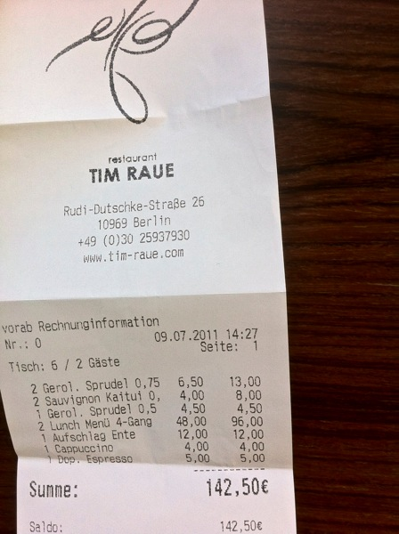 Tim Raue Berlin
